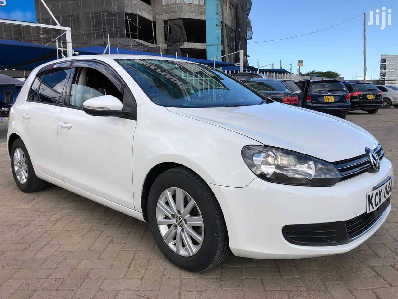 Volkswagen Golf 2012 White