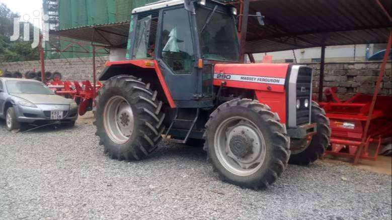 Ex UK Tractor Mf 290 2wd And 4wd Tractor For Sale.