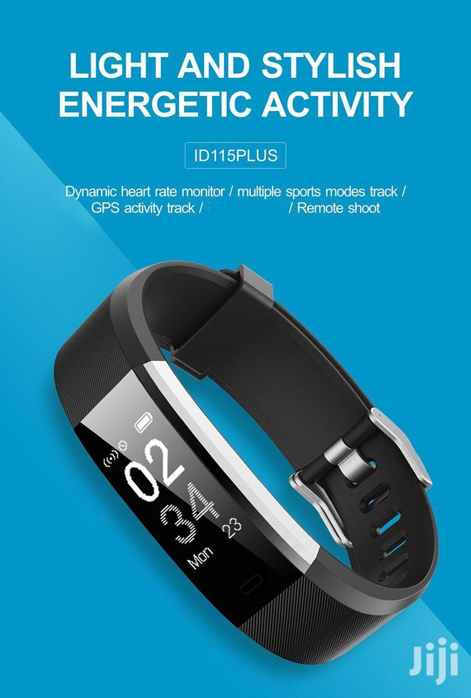 ID115 HR Plus Smart Bracelet Sports Blood Pressure Fitness Tracker   Smart Watches & Trackers for sale in Nairobi Central, Nairobi, Kenya