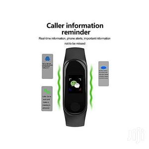 M4 Fitness Tracker Heart Rate Blood Pressure Watch – Black