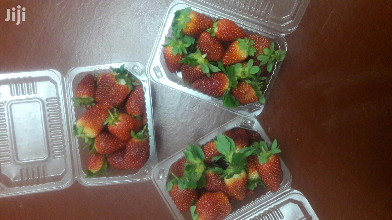 Farm Fresh Strawberry Fruits