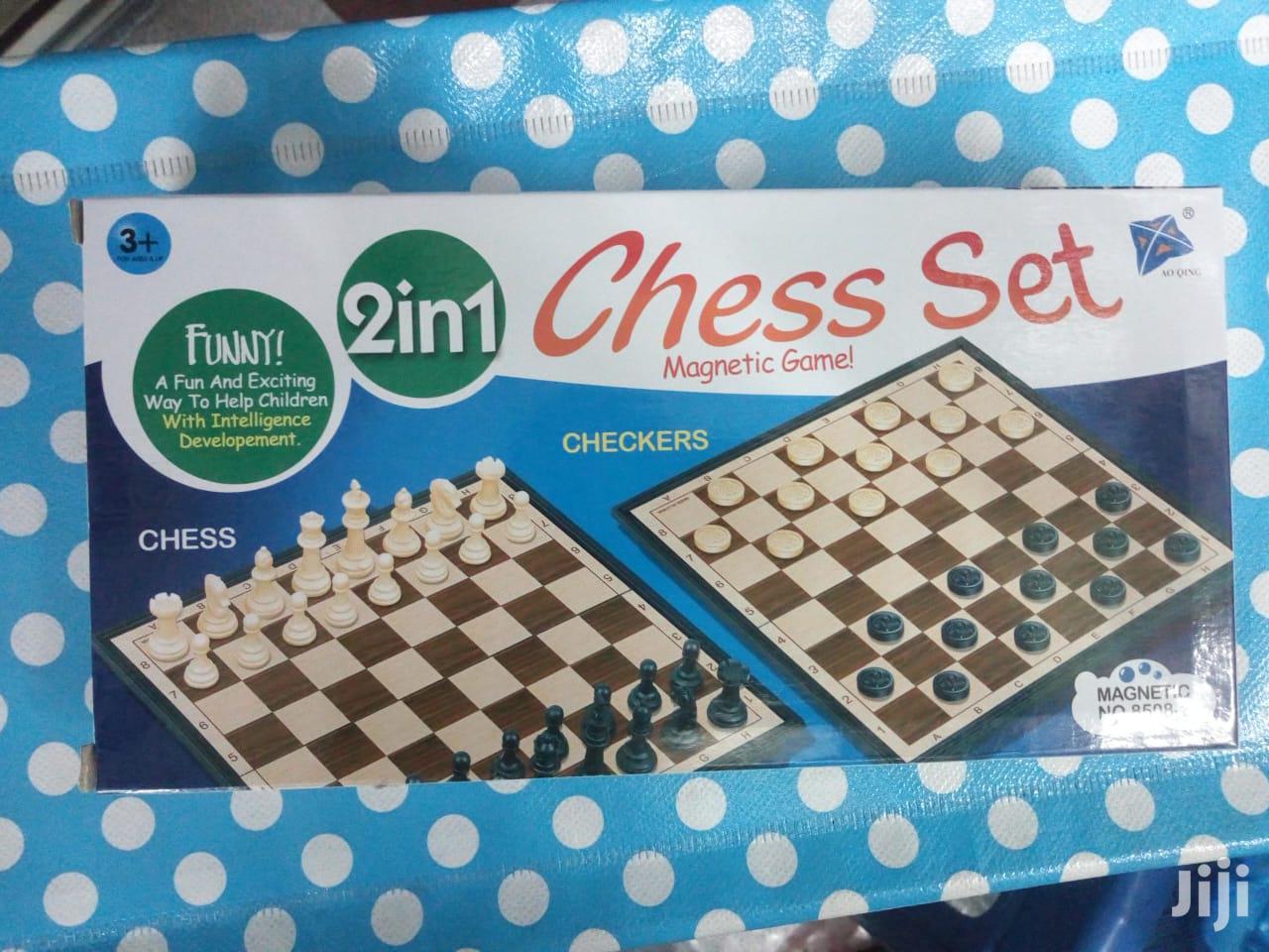 2 In 1 Chess Board