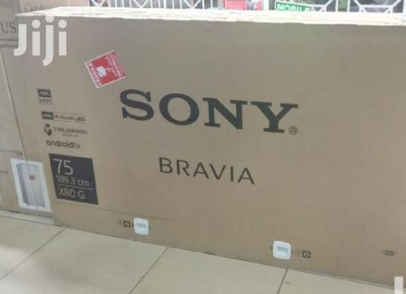Archive: Sony 75 Inch Hdr 4K Uhd Android Smart LED TV Kd75x8000g