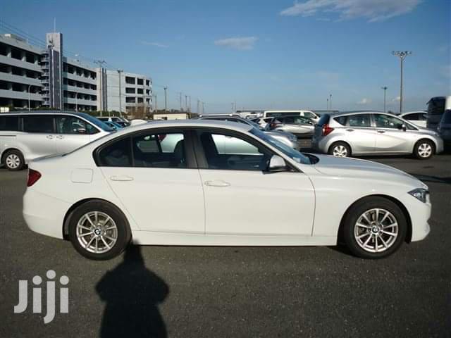 BMW 320i 2013 White | Cars for sale in Ziwa la Ng'ombe , Mombasa, Kenya