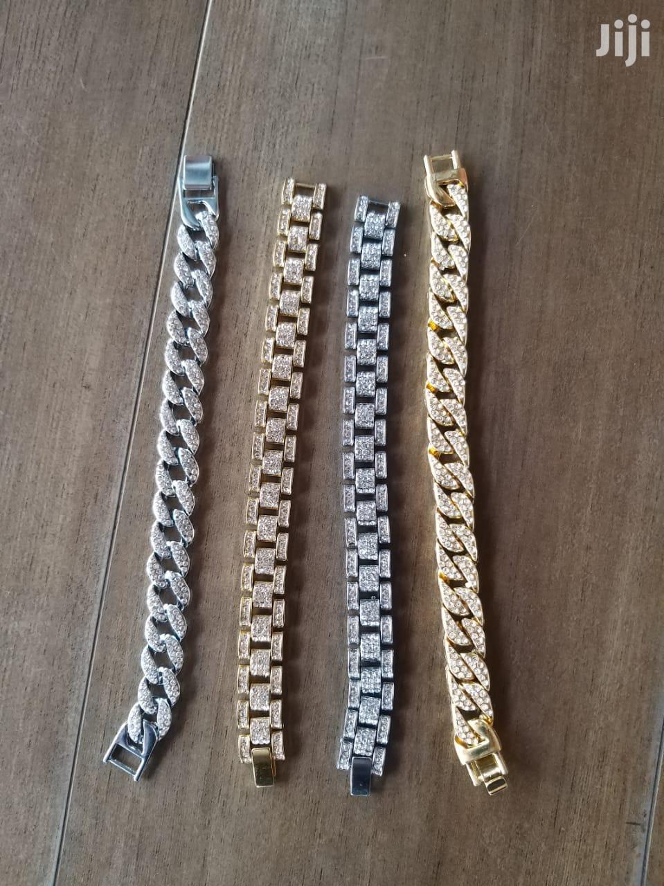 Iced Cuban Link Bracelets | Jewelry for sale in Nairobi Central, Nairobi, Kenya