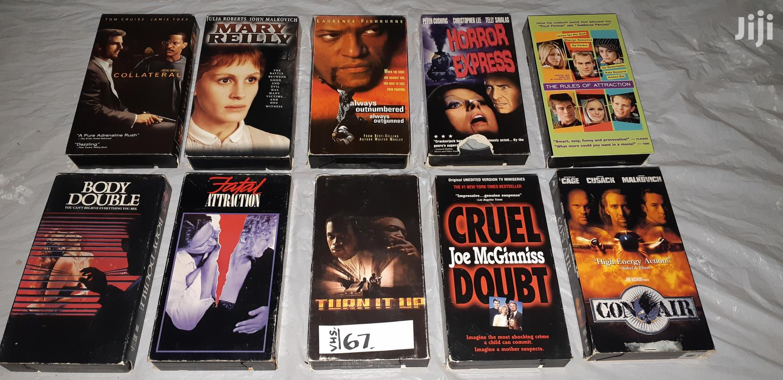 Sets of Dvds and VHS MOVIES Nos. 66, 67 and 68. | CDs & DVDs for sale in Olkaria, Nakuru, Kenya
