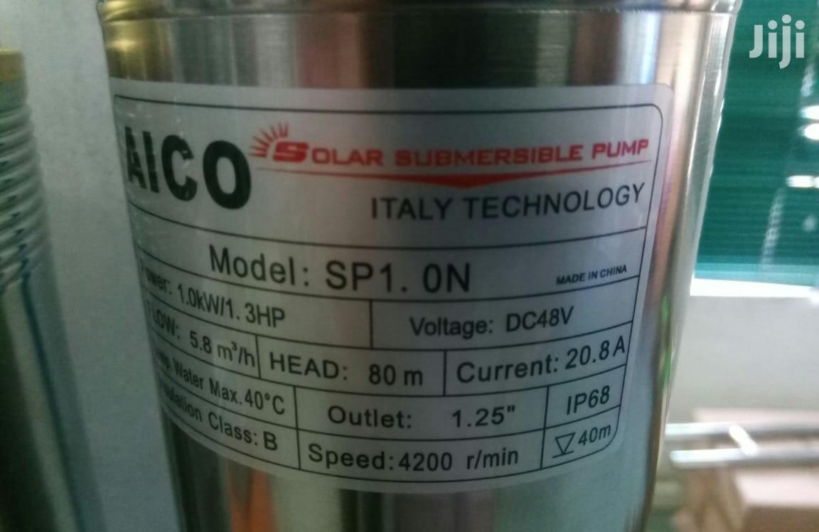 Brand New 1.3hp 80m Head Solar Submersible Pump.