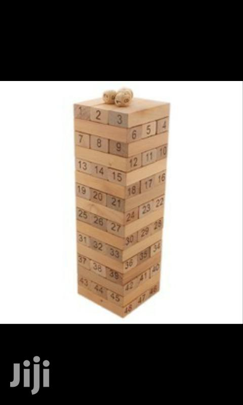 Jenga Game Blocks
