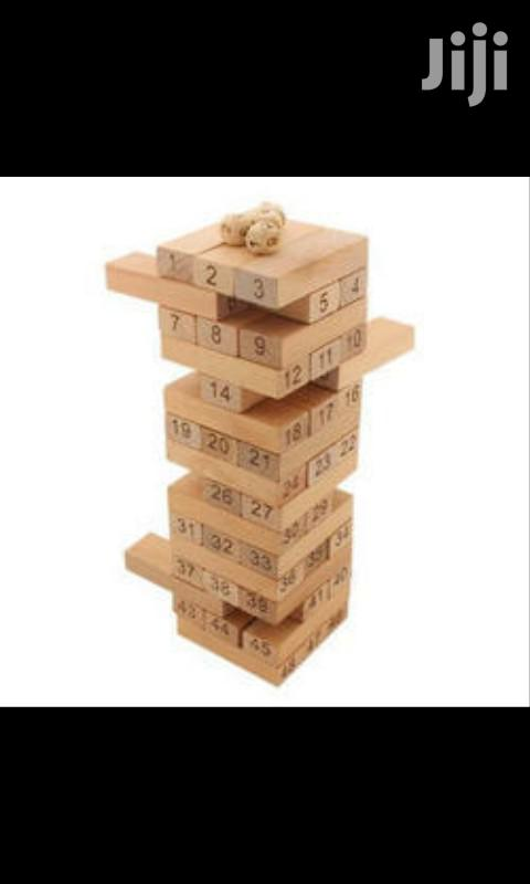 Jenga Game Blocks | Books & Games for sale in Westlands, Nairobi, Kenya