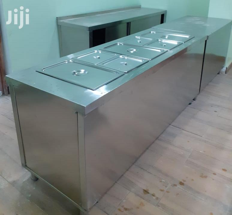 Bain Marie With Working Table