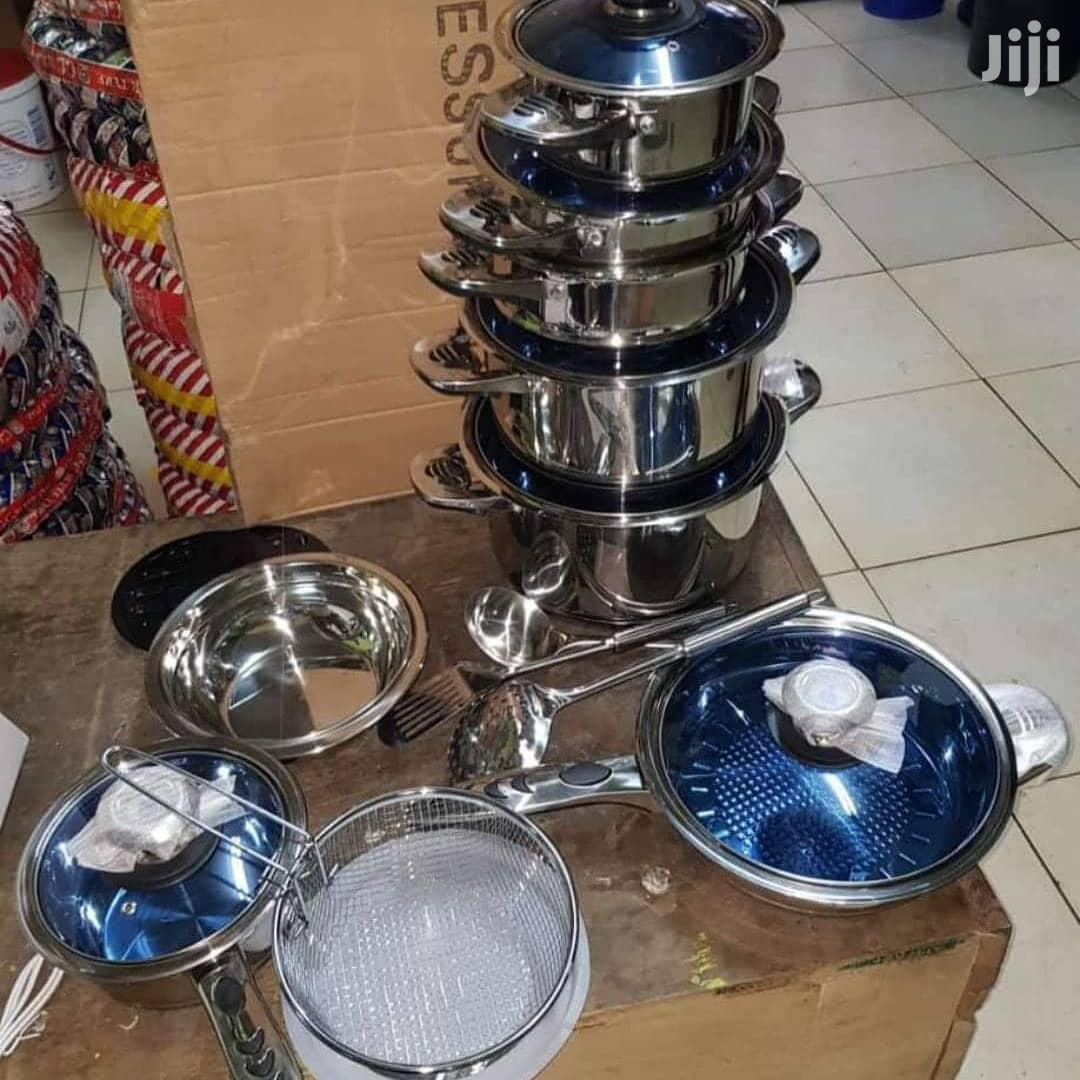 25pc Induction Cooking Sufuria/25pc Stainless Steel Sufuria/Cookerware   Home Accessories for sale in Nairobi Central, Nairobi, Kenya