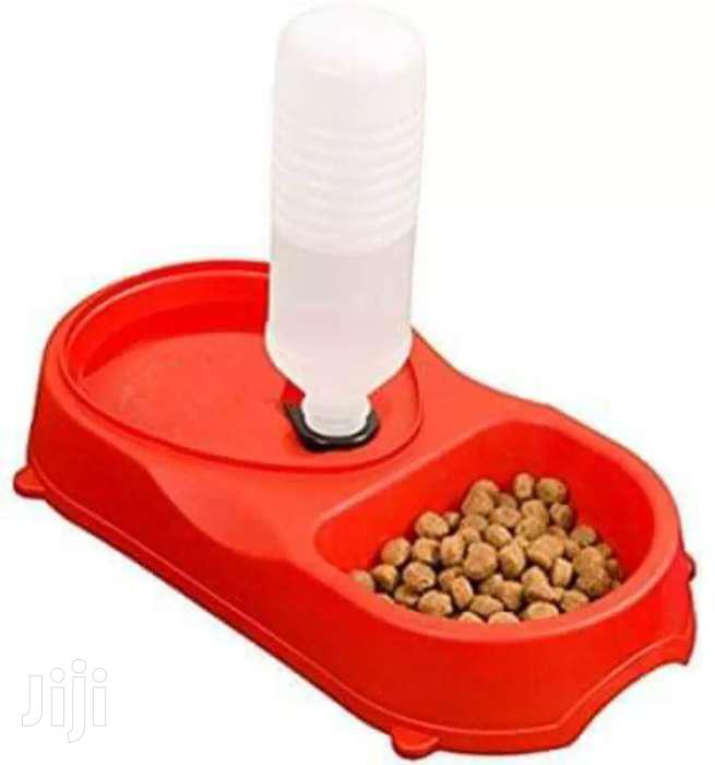 Pet Feeder With Water Refelling ( Dog and Cat )