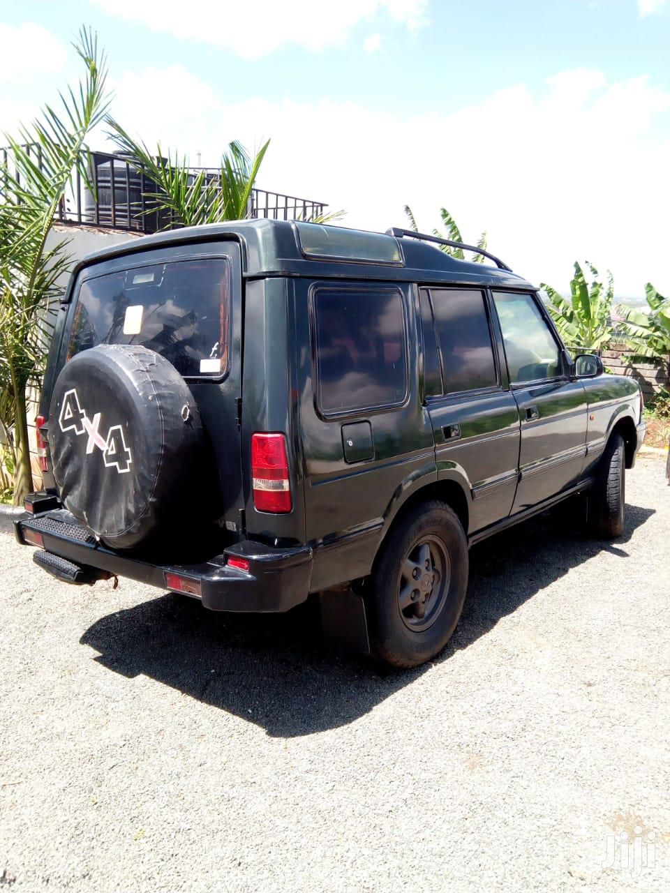 Archive: Land Rover Discovery 1999 Green