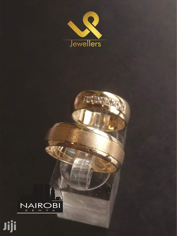 Custom Made Classic 18k Gold Couple Bride N Groom Wedding Ring Bands | Wedding Wear & Accessories for sale in Nairobi Central, Nairobi, Kenya