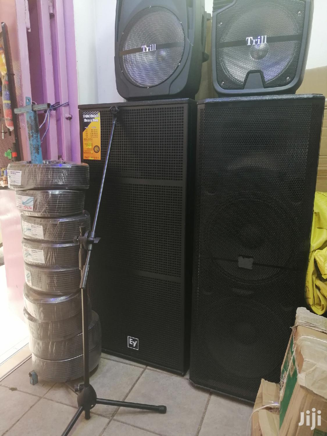 Ev Full Range Speakers