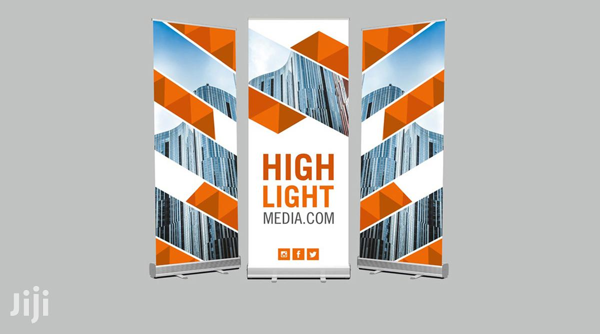 Roll Up Banner | Computer & IT Services for sale in Nairobi Central, Nairobi, Kenya