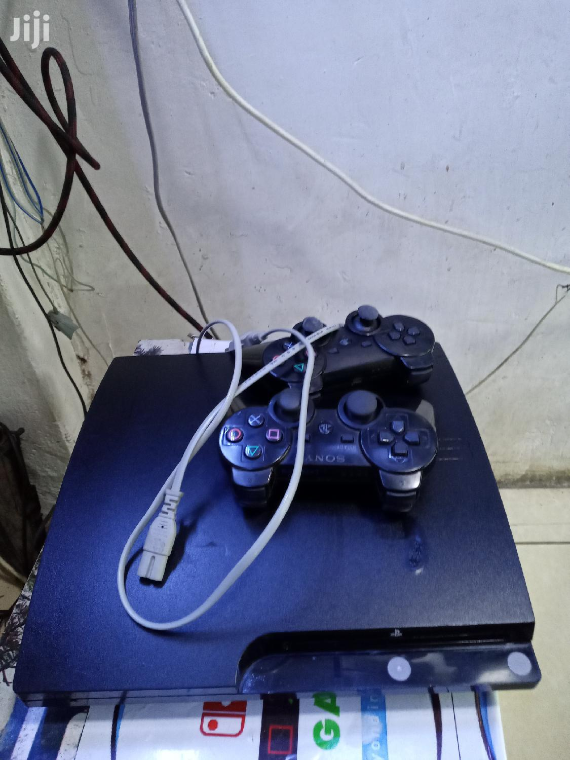 Ps 3 Slim Cheped With 10 Games