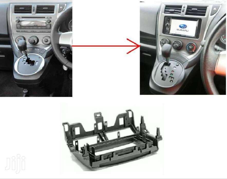 Double Din Installation Panel : For Subaru Trezia (New Shape)