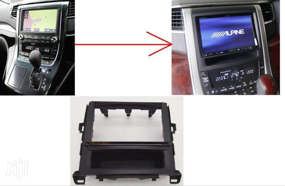 Toyota Vellfire/Alphard: Yr2011/13: Double Din Dvd Conversion Fascia