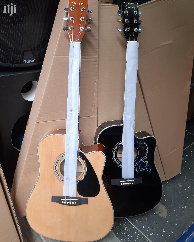 Original Fender Semi Acoustic Box Guitar and Bag