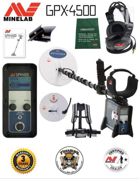 Gold Detector GPX 4500
