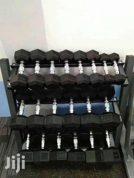 New Gym Dumbbells