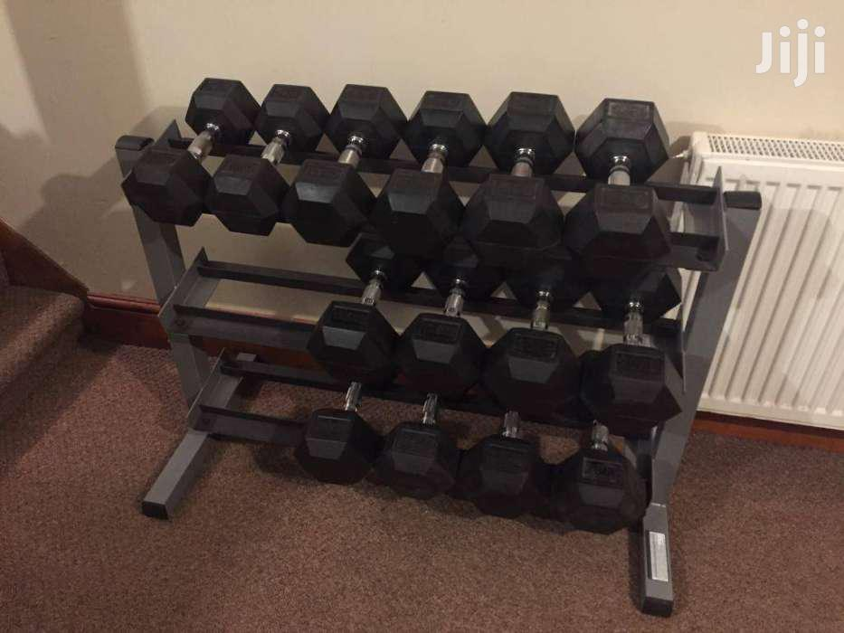 New Gym Dumbbells | Sports Equipment for sale in Nairobi Central, Nairobi, Kenya