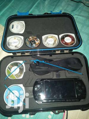 PSP With 10 Games