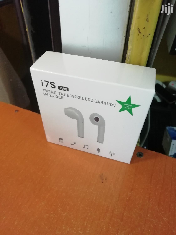 I7s Wireless Earphones Anti-noise Stereo Headset Twin Earphones. | Headphones for sale in Nairobi Central, Nairobi, Kenya