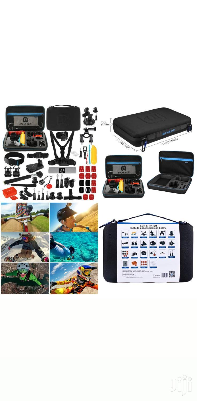 Accessories For Go Pro Hero 4/3+/3/2/1 PULUZ PKT09 53 In 1 Portable