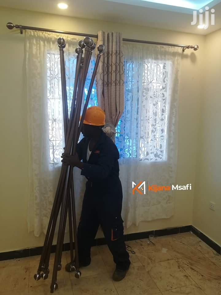 Archive: Curtain Rods Installation/Curtains Fixing