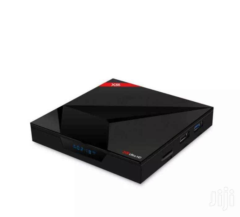 Archive: X88 Android TV Box With Voice Control 4GB RAM, 64GB Rom