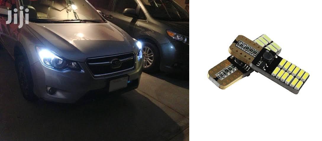 T10 White Parking LED Bulbs