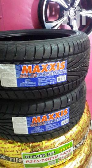 215/45zr17 Maxxis Tyre's Is Made In Thailand   Vehicle Parts & Accessories for sale in Nairobi, Nairobi Central