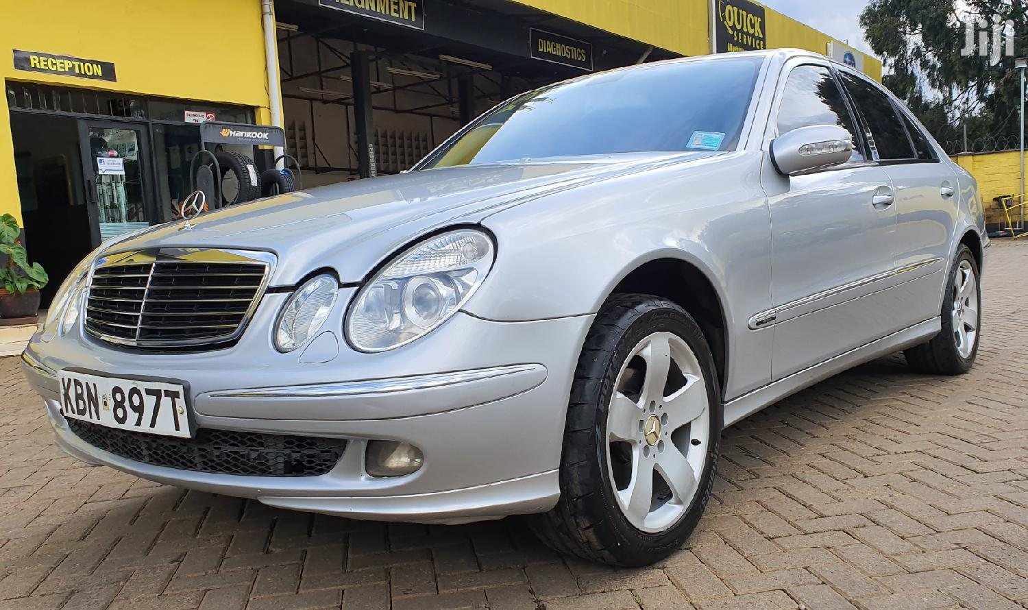 Mercedes-Benz E220 2005 Silver | Cars for sale in Karen, Nairobi, Kenya