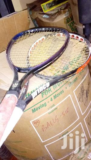 Wilsons and Prince Tennis Rackets