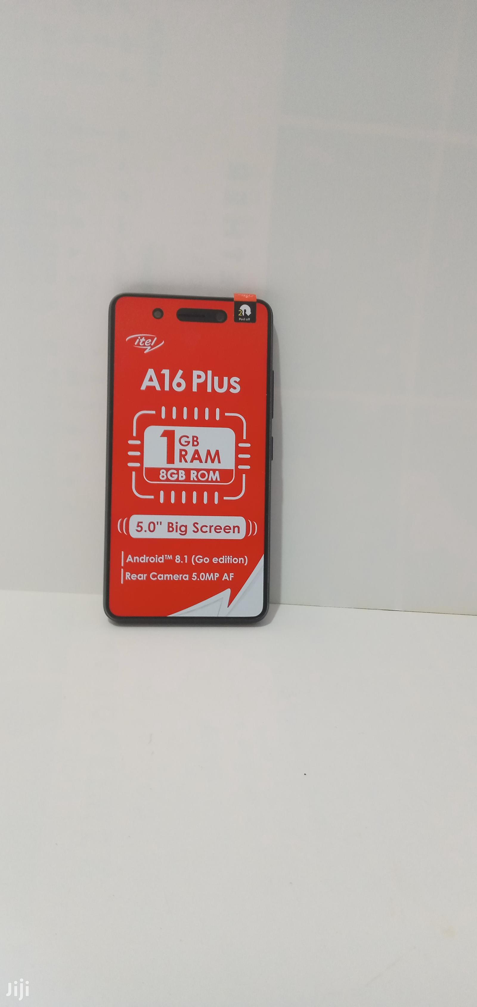 Archive: New Itel A16 Plus 8 GB Black