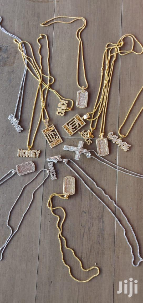 Ice Chained With Pendants | Jewelry for sale in Nairobi Central, Nairobi, Kenya