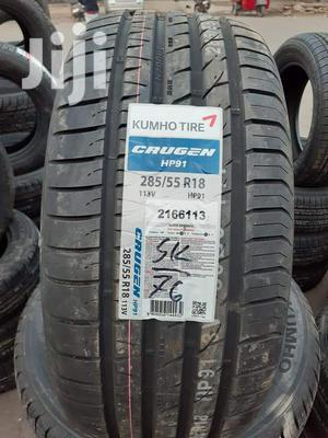 285/55zr18 Kumho Tyre's Is Made In Korea   Vehicle Parts & Accessories for sale in Nairobi, Nairobi Central