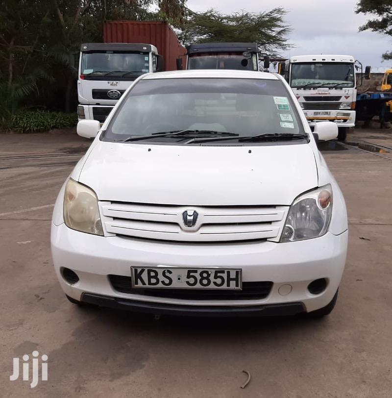 Archive: Toyota IST 2007 White