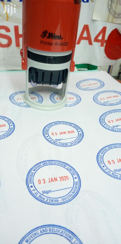 Rubber Stamp | Stationery for sale in Nairobi Central, Nairobi, Kenya