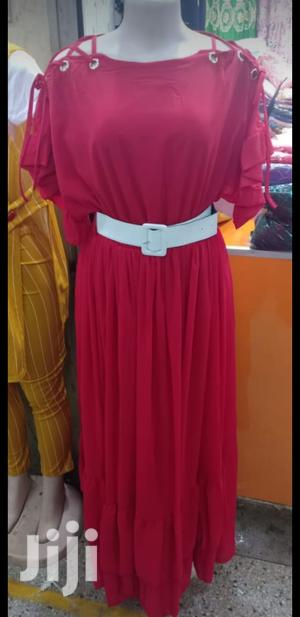 New Arrivals, Red Chiffon Dress