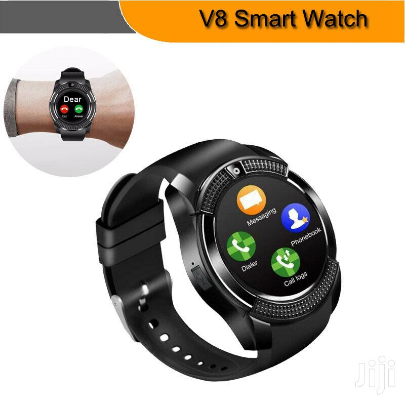 Archive: Round Touch SIM GSM Men Women Smartwatch for Android V8 Bluetooth