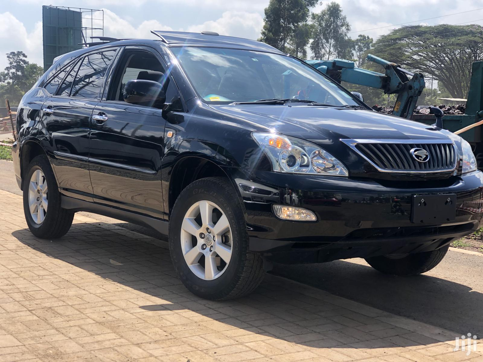 Toyota Harrier 2012 Black