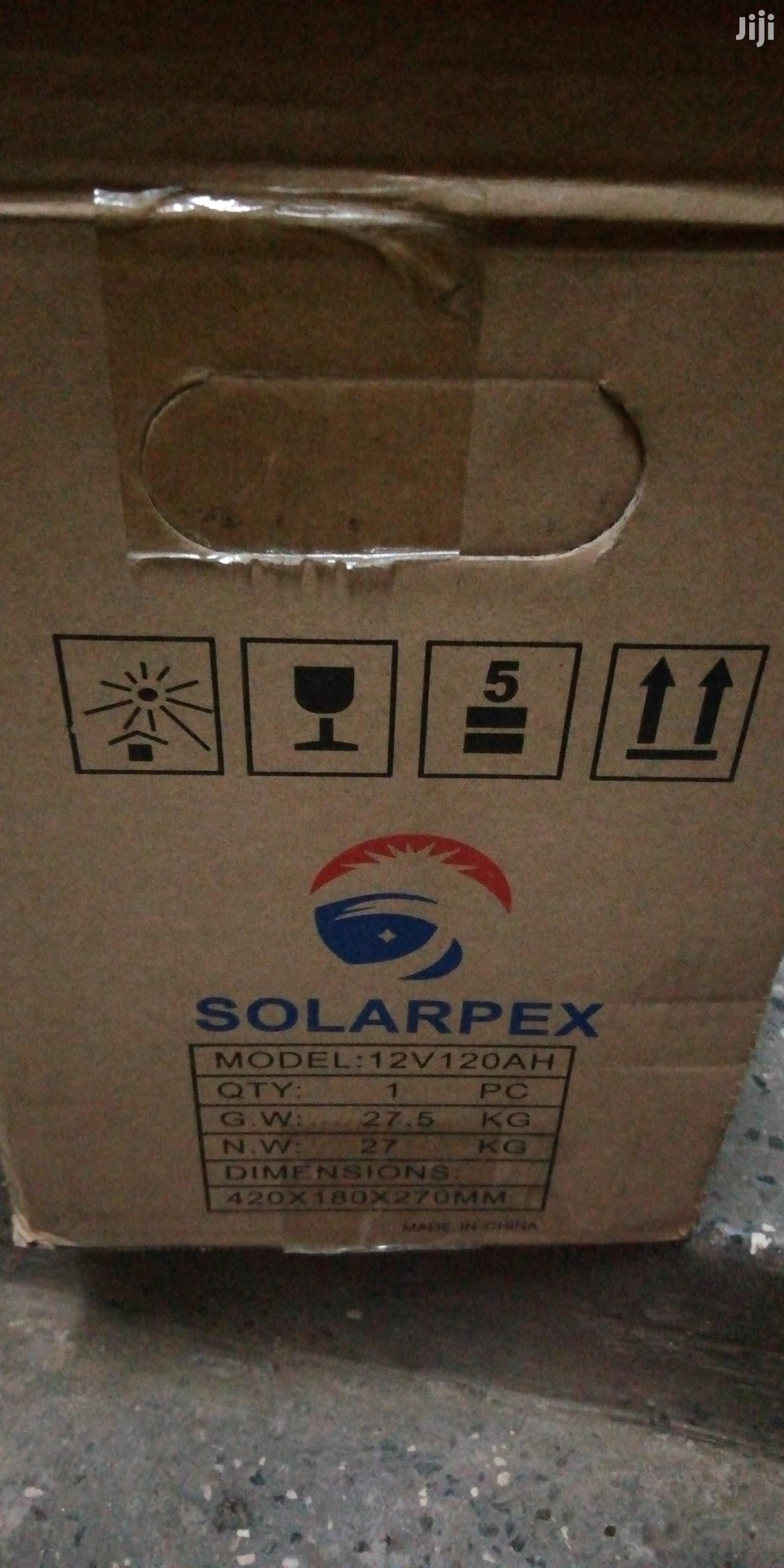 Archive: 12/120ah Solarpex Solar Gel Battery