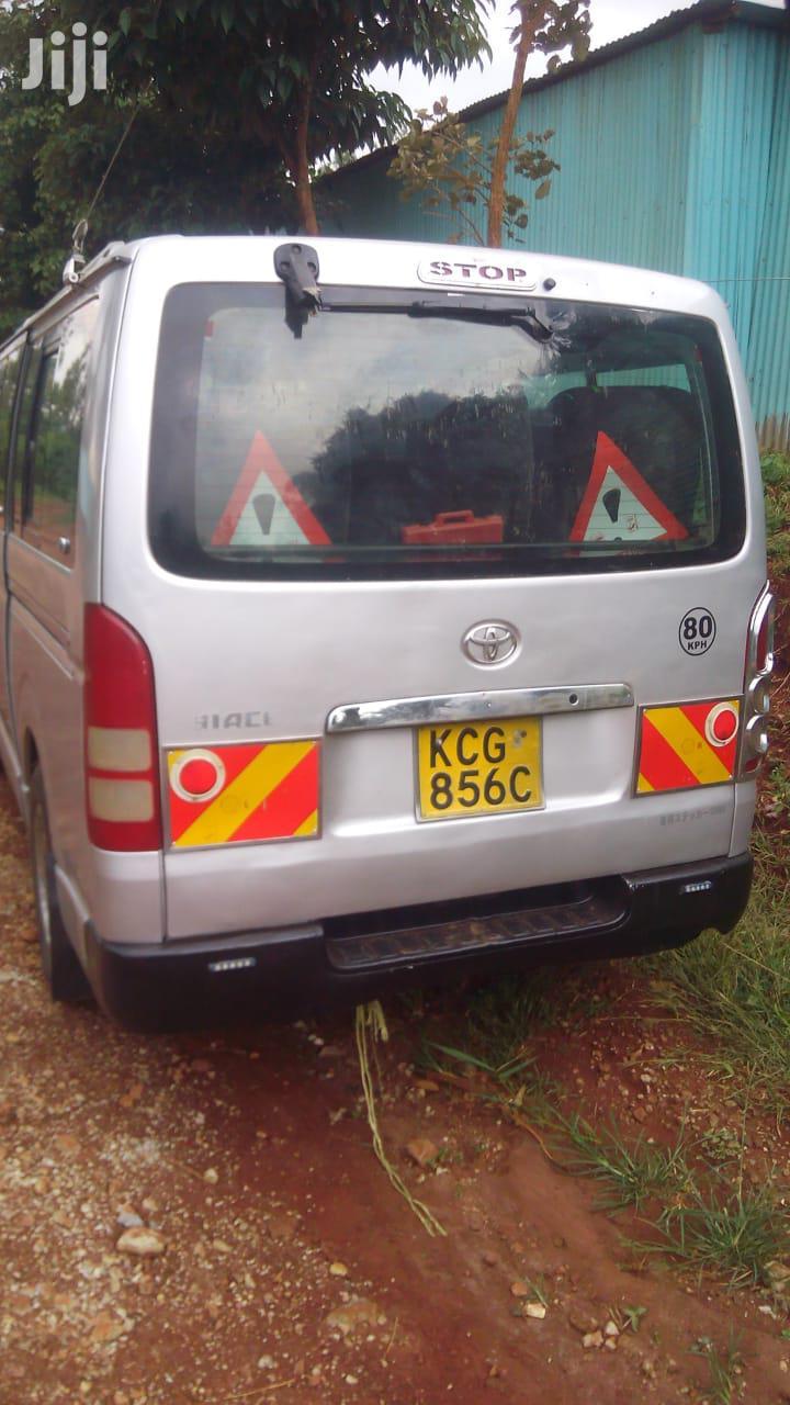 Toyota Hiace 2009 Gray | Buses & Microbuses for sale in Nairobi Central, Nairobi, Kenya