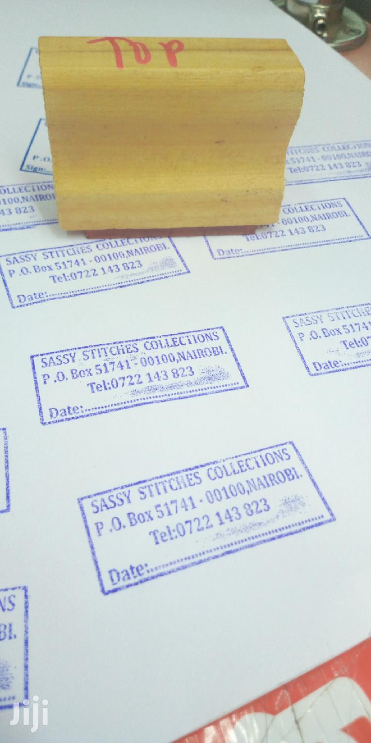 Rubber Stamp | Other Services for sale in Nairobi Central, Nairobi, Kenya