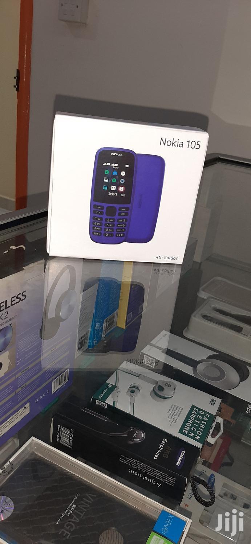Nokia 105 512 MB Black   Mobile Phones for sale in Nairobi Central, Nairobi, Kenya
