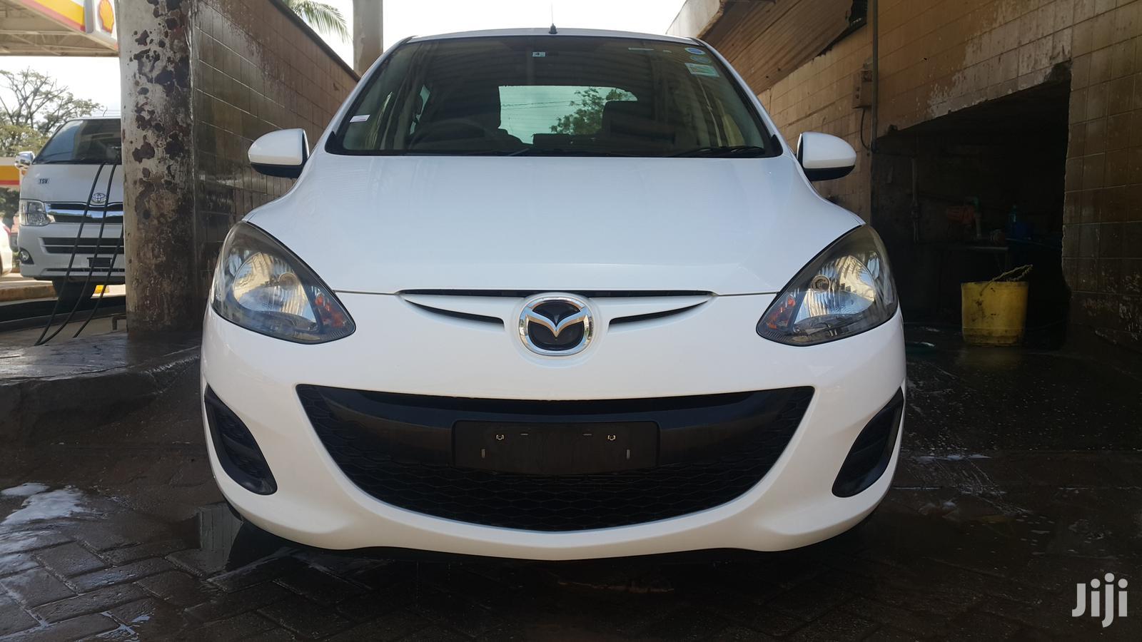 New Mazda Demio 2012 White