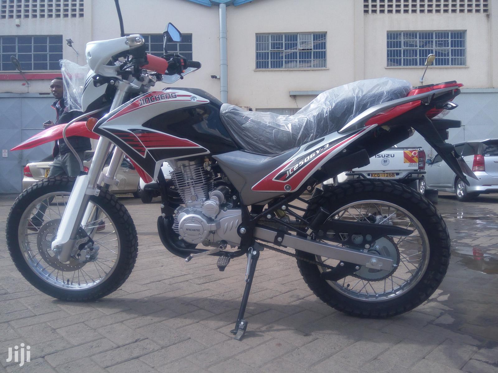 New Jincheng 2019 Red   Motorcycles & Scooters for sale in Landimawe, Nairobi, Kenya